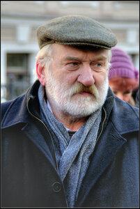 Ян  Нейман. Открытие памятника вице-губернатору Маневичу. Санкт-Петербург. 5 марта 2013.