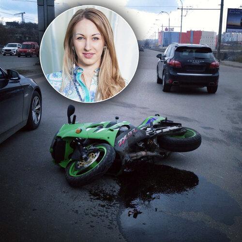 Дочь молдавского депутата сбила мотоциклиста
