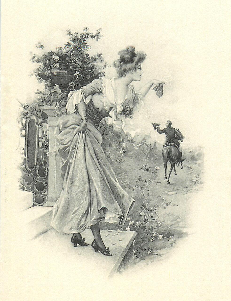 Старинные романтичные открытки