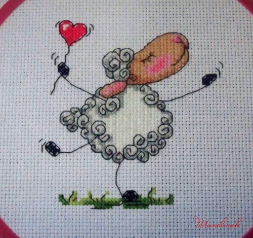 """Мечтательная овечка, """"Ледi"""""""