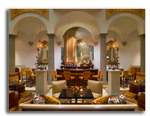 Италия. Флоренция. The St. Regis Florence. Bar