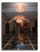 ОАЭ. Дубаи. UAE. Grosvenor House, Dubai. Декабрь 2009