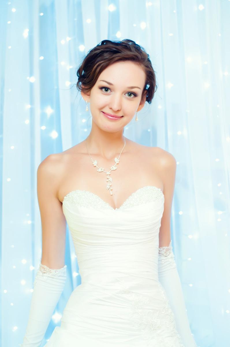 Портрет невесты в звездах