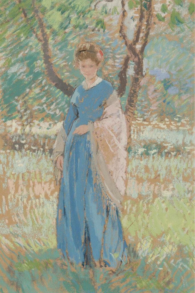 Karl Albert Buehr - Woman in Shawl.jpeg