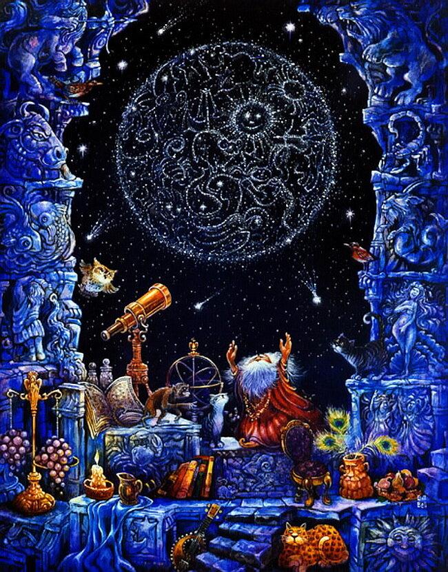Волшебный Зодиак, знаки зодиака