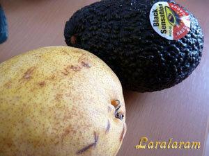 Авокадо фото чёрная сенсация