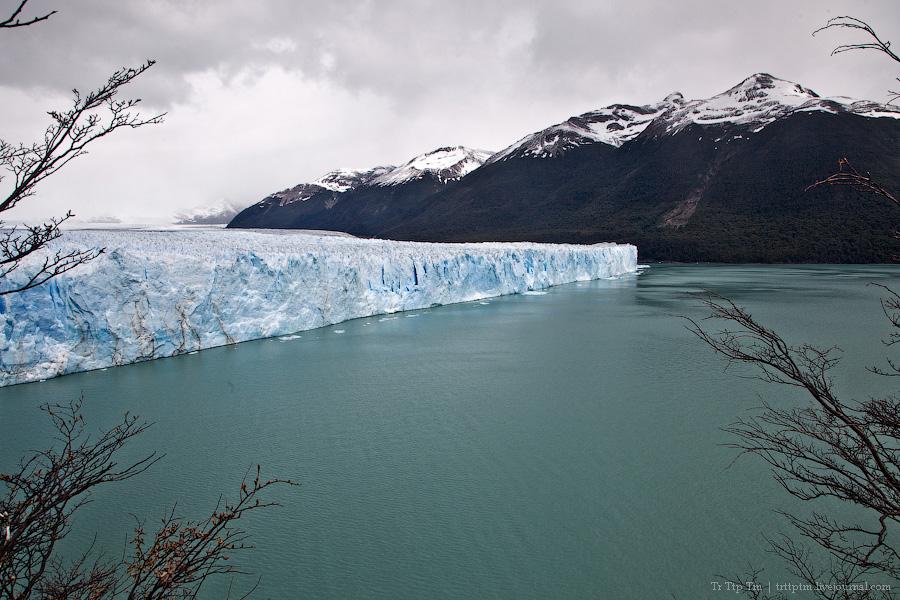 8. Устоявший перед потеплением. Ледник Перито Морено.