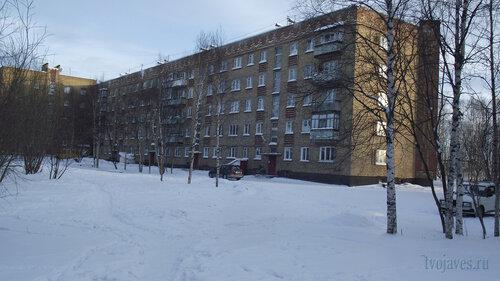 Фотография Инты №2975  Северо-западный угол Куратова 38 01.02.2013_13:00