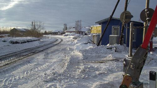 Фотография Инты №3161  Железная дорога в районе входа на
