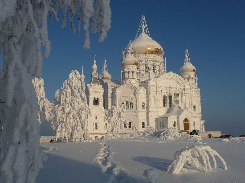 Белогорский монастырь 2 января 2013