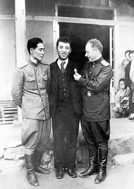 Ким ир сен и сталин