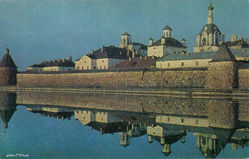 Соловецкий монастырь. XV век.