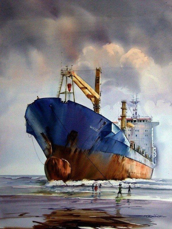 Итоги третьего конкурса Международного Акварельного Общества | International Watercolor Society | IWS 2012-2013