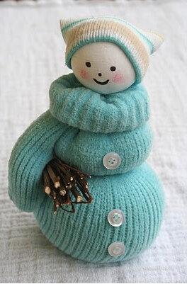 Дед Мороз из свитера