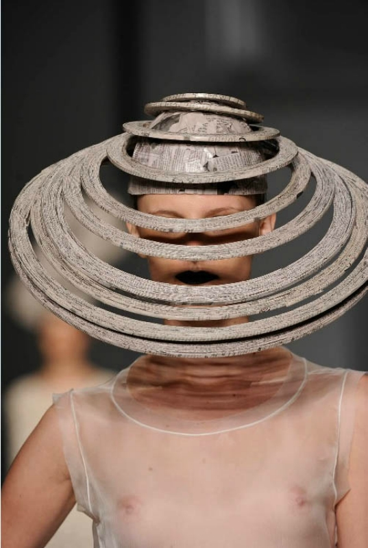 Шляпы из газет