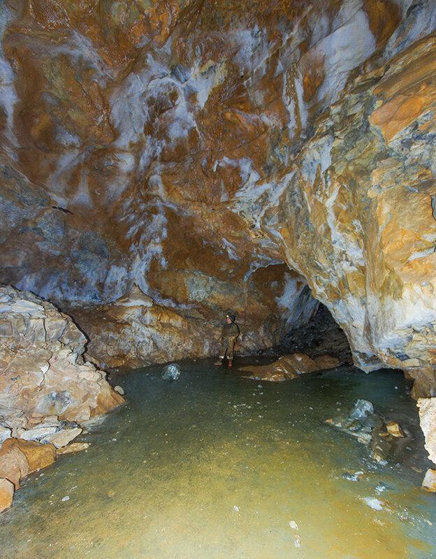 Масштабы пещеры