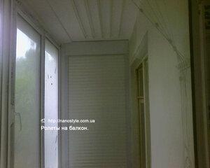 ролеты для балкона.