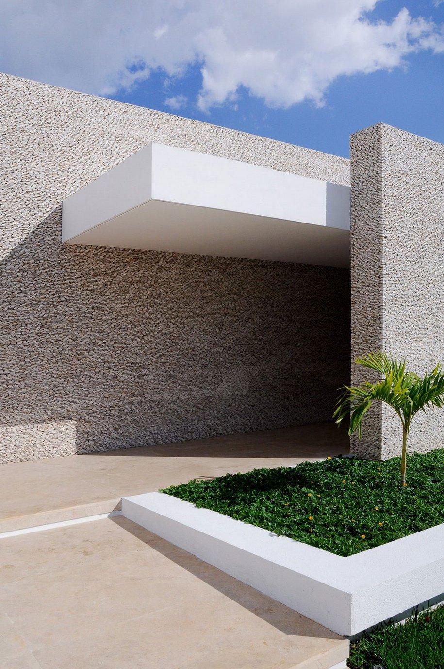 Частный дом для пожилой пары в Мексике