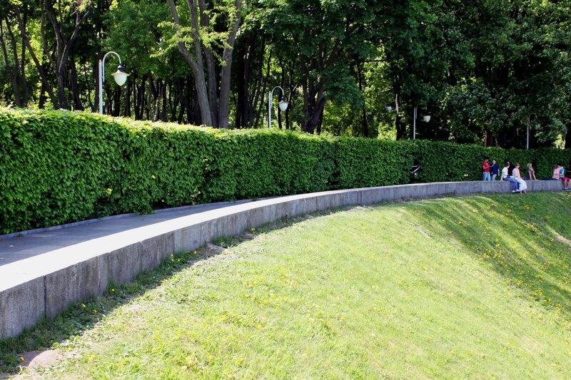 Обзорная аллея парка Славы