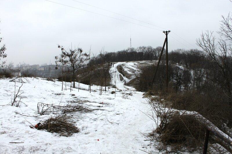 Снег на Хоривице