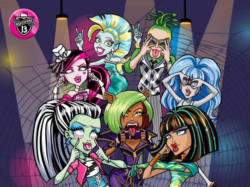 Обои monster high (школа монстров) wallpapers! » школа монстров.