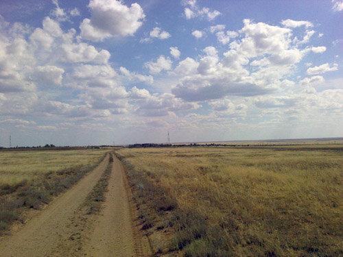 Эльтон. Прогулка по степи (часть 3 - Улаган)