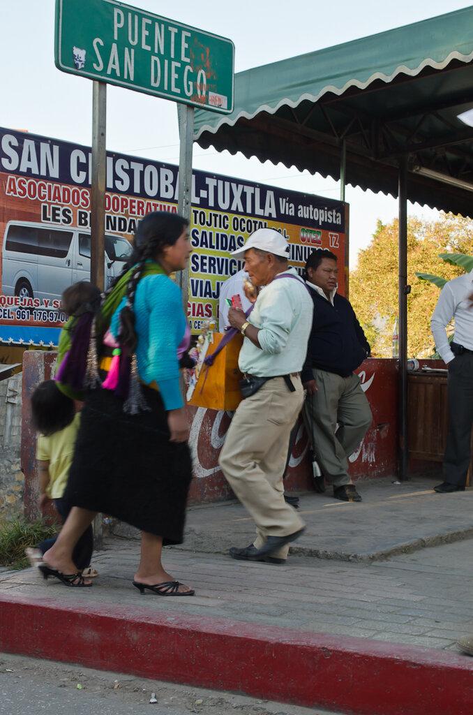 Индейцы Чьяпас в Сан-Кристобаль-де-лас-Касас в Мексике