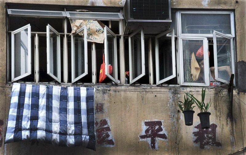 Трущобы Гонконга
