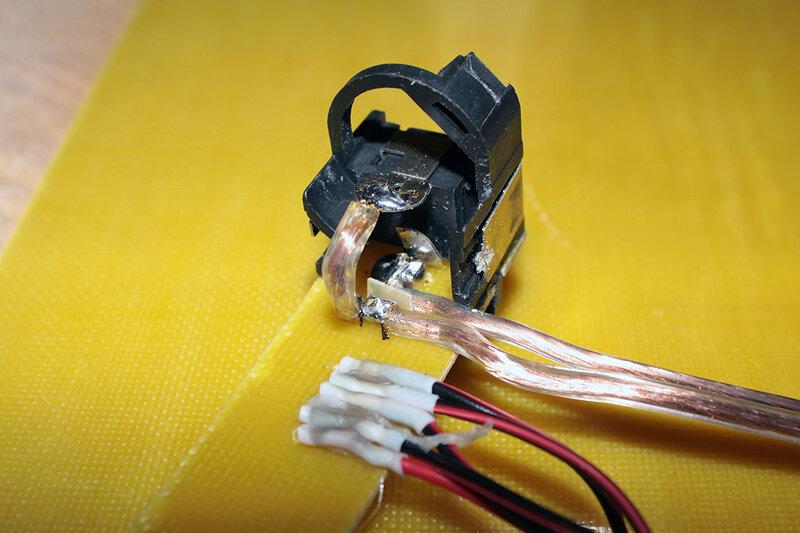 Как припоять к схеме провода