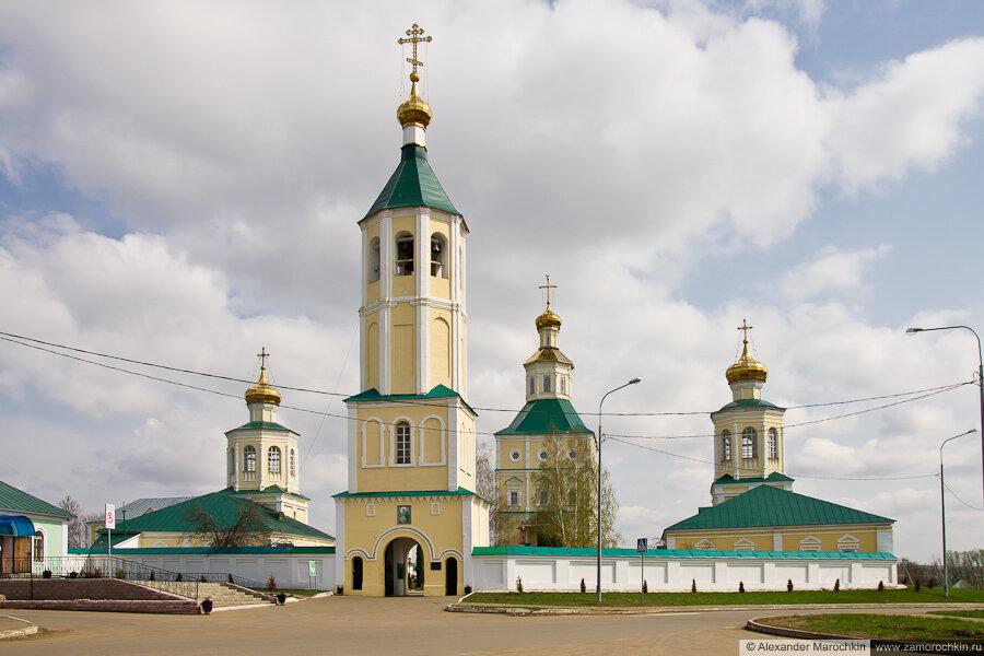 Архитектурный ансамбль Иоанно-Богословского Макаровского монастыря (Саранск)