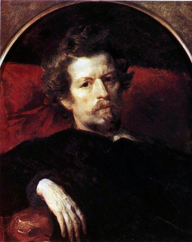 Карл Брюллов, живопись, Автопортрет