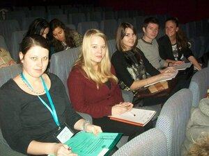 Студенты РГГУ на Диктанте Консула в Посольстве Франции