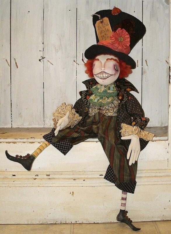 кукла часовщик