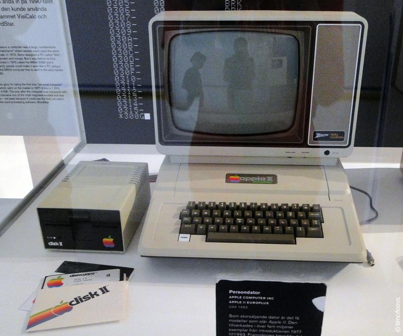 Технический сузей Стокгольма. Apple II