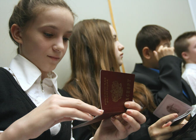 Получить паспорт в Санкт-Петербурге можно будет в обмен на клятву