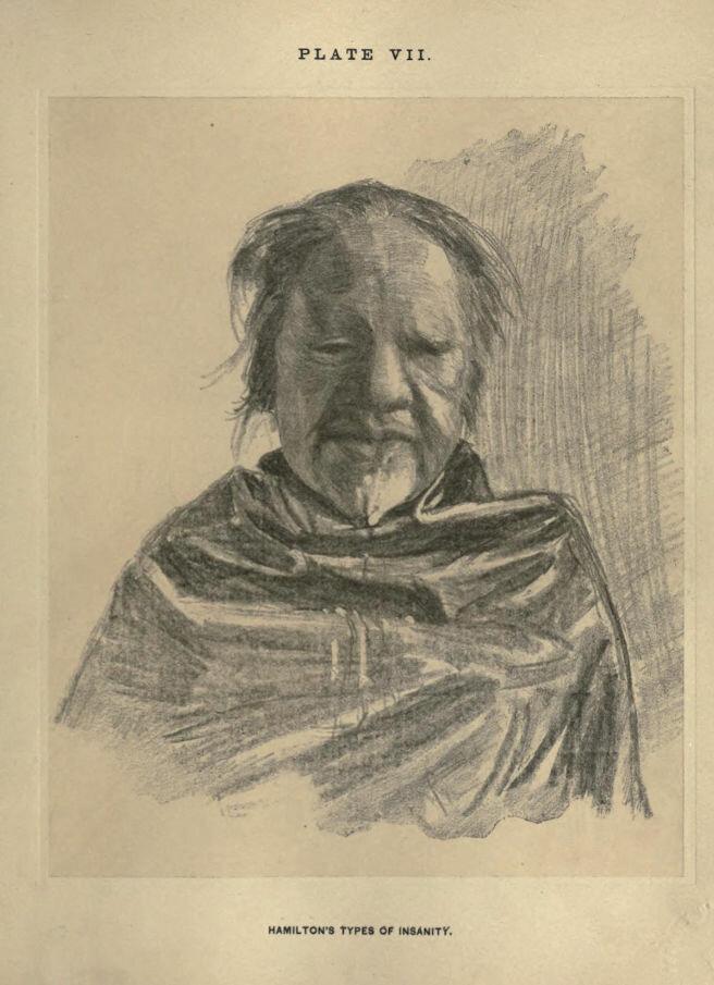 Иллюстрированный справочник по психическим расстройствам 1883 года