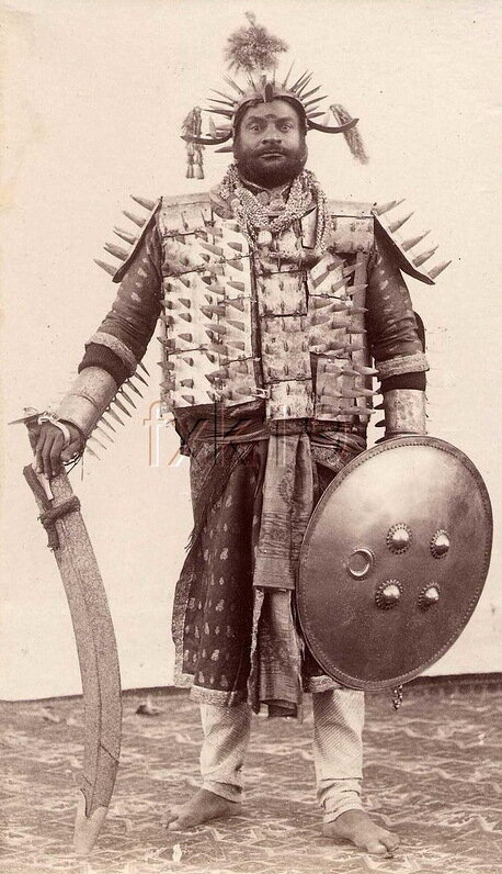 палач округа Рева (Мадхья–Прадеш), Индия, 1903 год