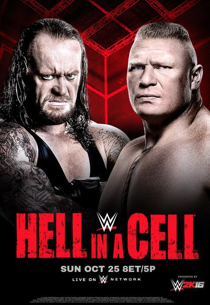 Post image of WWE Hell In A Cell 2015