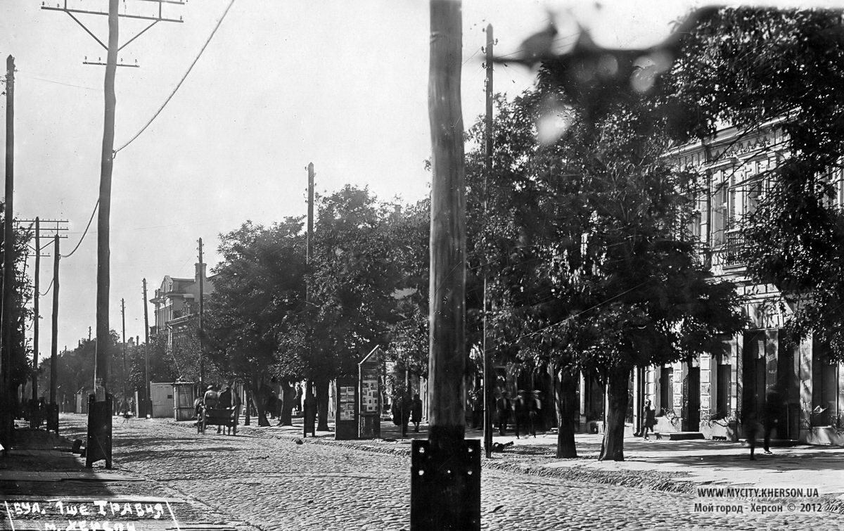 Улица 1 мая (Суворовская улица) Примерно 30-е годы