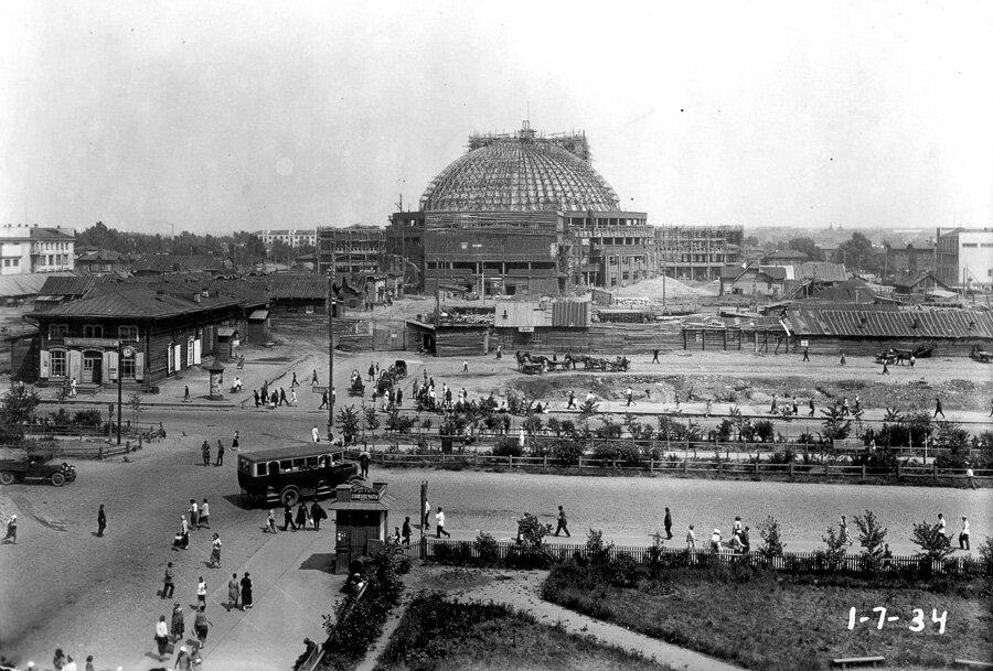 Строительство театра оперы и балета, 1 июля 1934 года