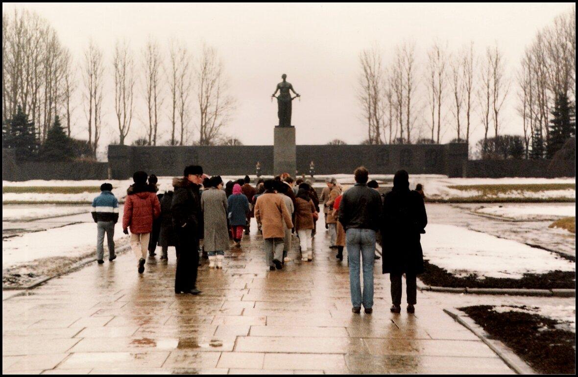 Ленинград, Пискаревское кладбище
