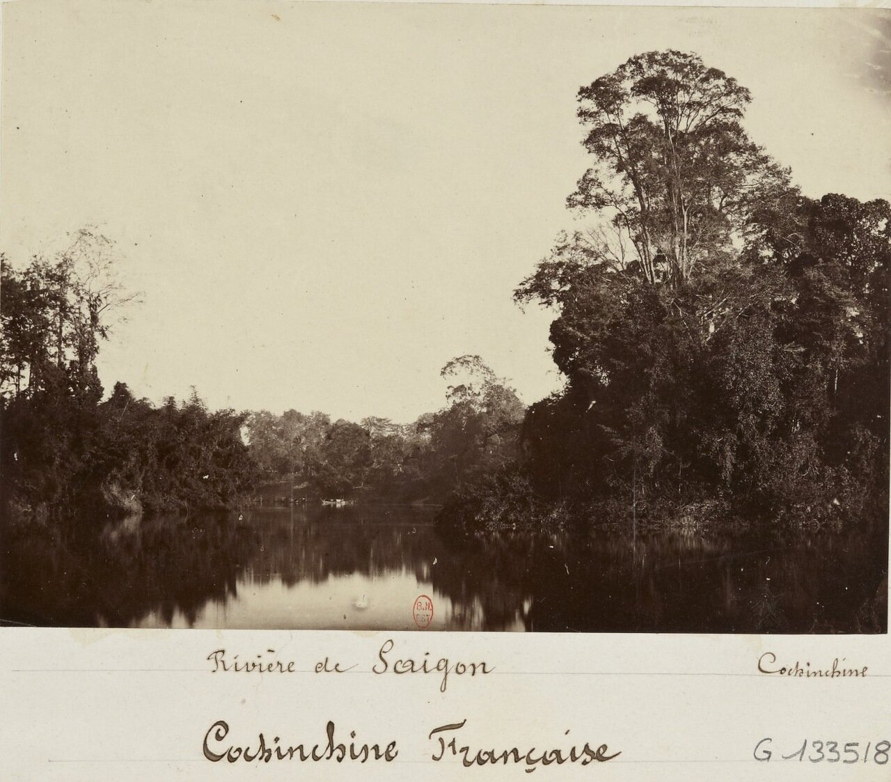 Французская Кохинхина. На реке Сайгон