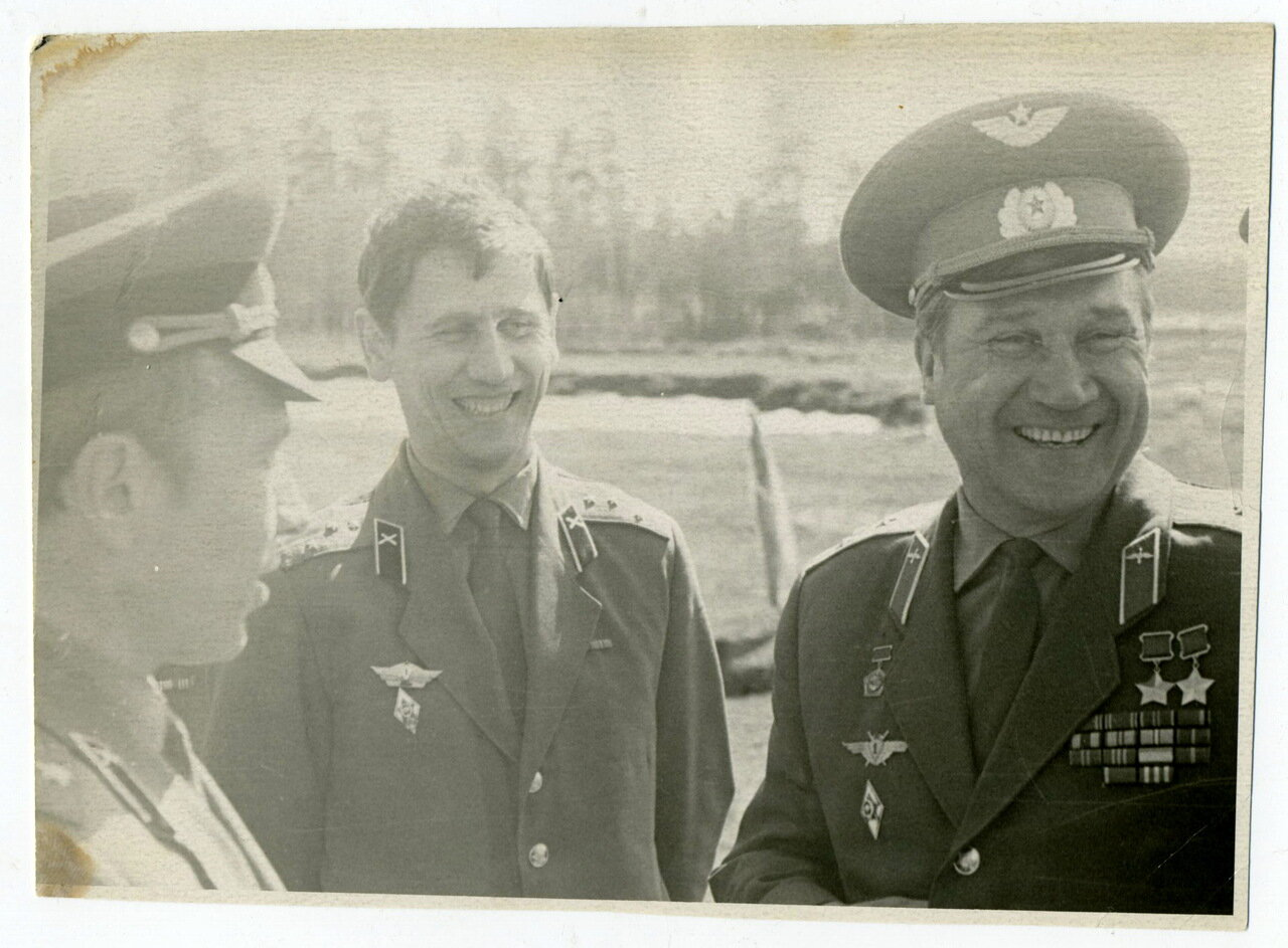 Озеро Рабиновское, тренировки космонавтов