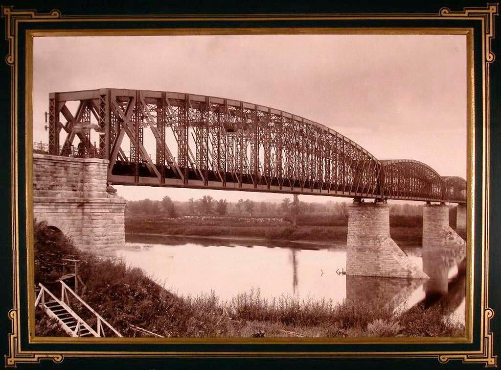 10. Вид моста через реку Уфу