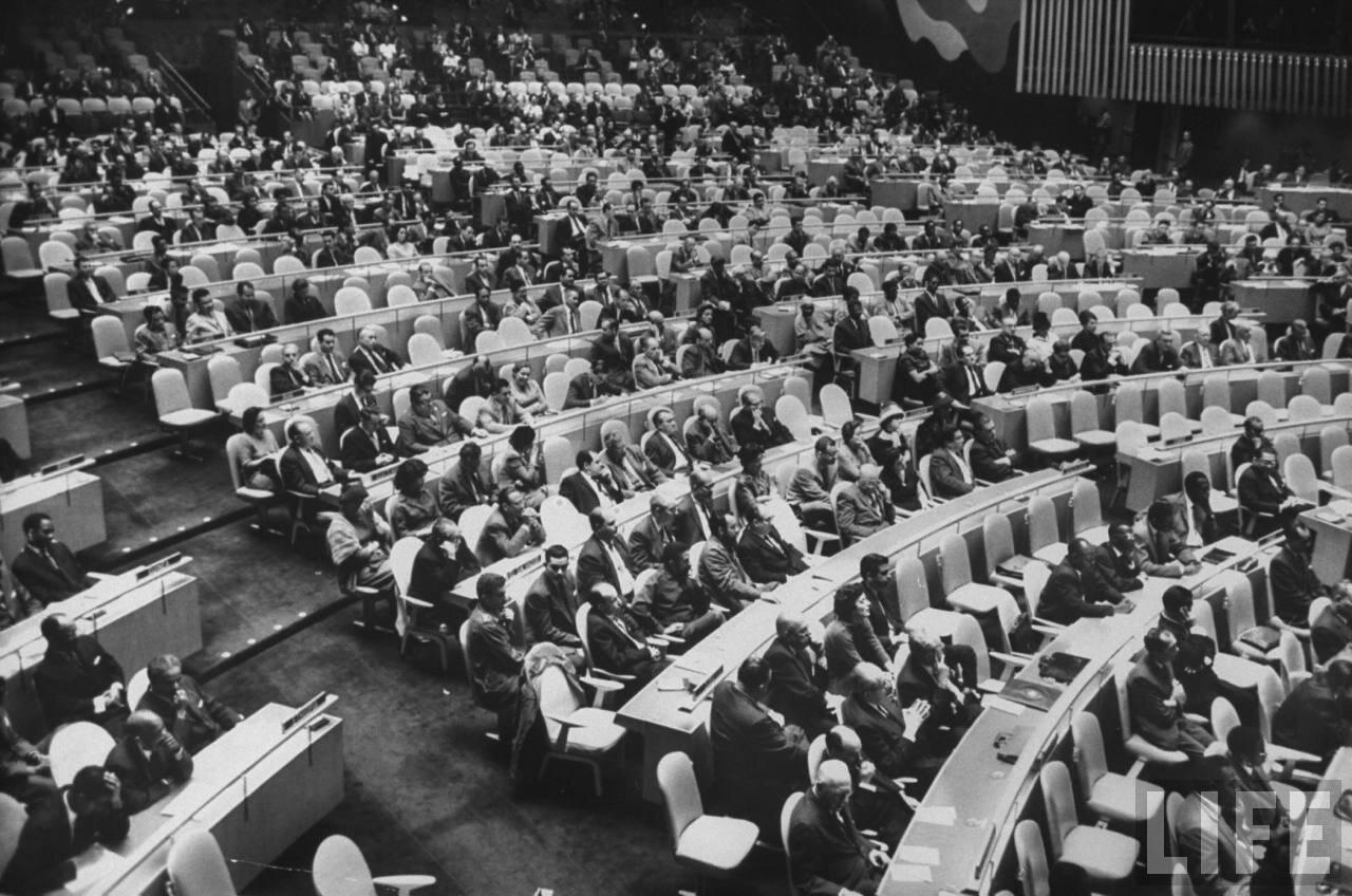Во время одного из заседаний Ассамблеи
