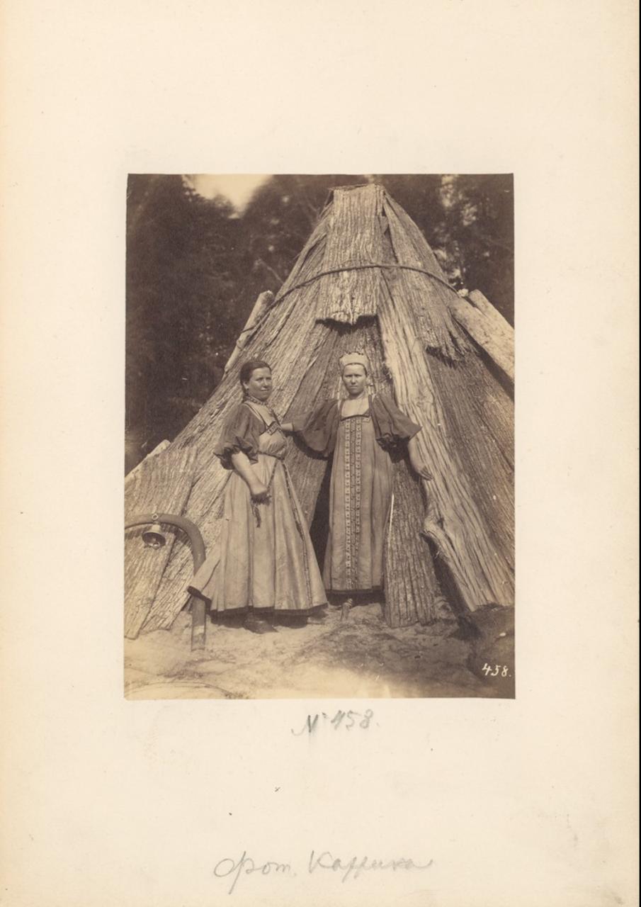 Девушки-углежоги.1870-е