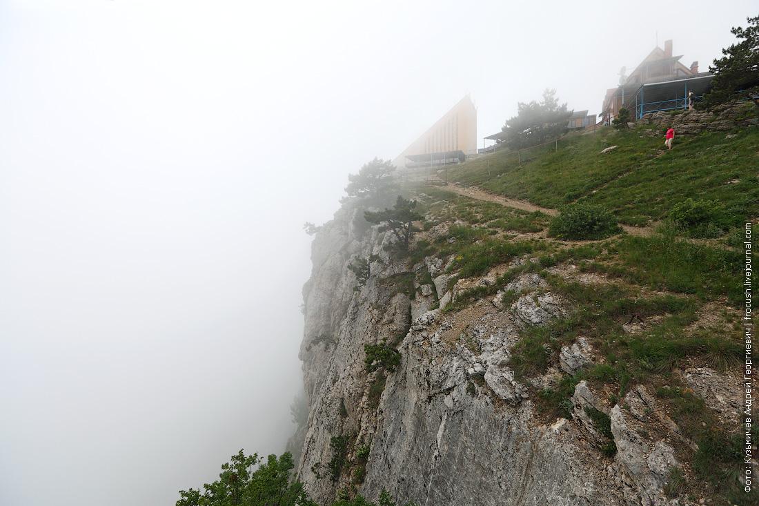 гора Ай-Петри верхняя станция канатки