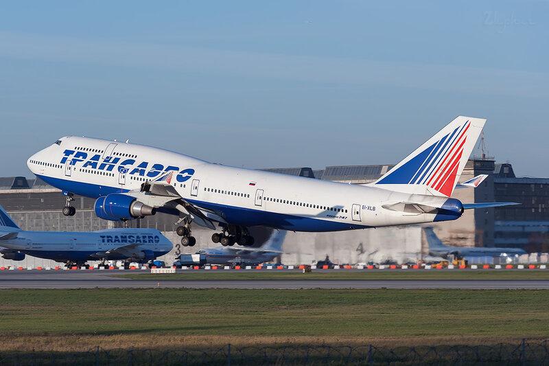 Boeing 747-446 (EI-XLB) Трансаэро DSC7227
