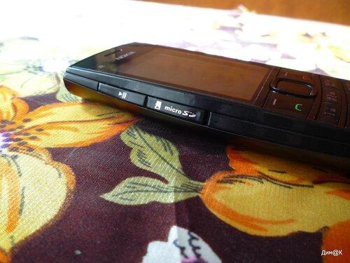Nokia X2-02 (левая грань)