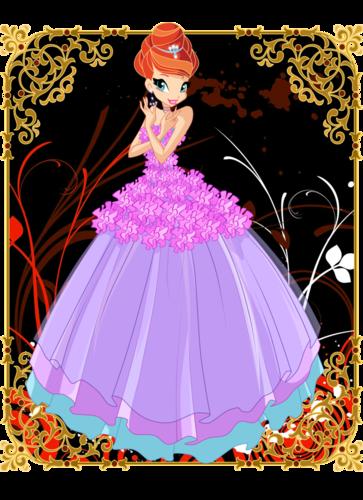 Девчата винкс в бальных платьях +видеоклипы